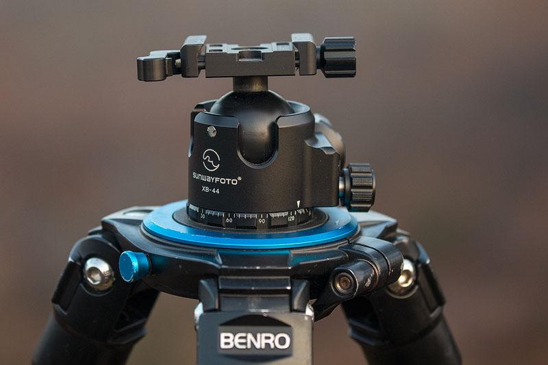 Review: Sunwayfoto XB-44 balhoofd